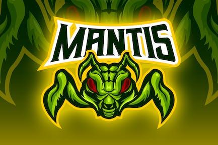 Praying Mantis Esport Logo