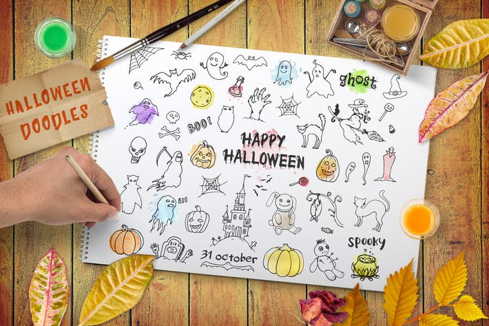 Thumbnail for Halloween Design Kit