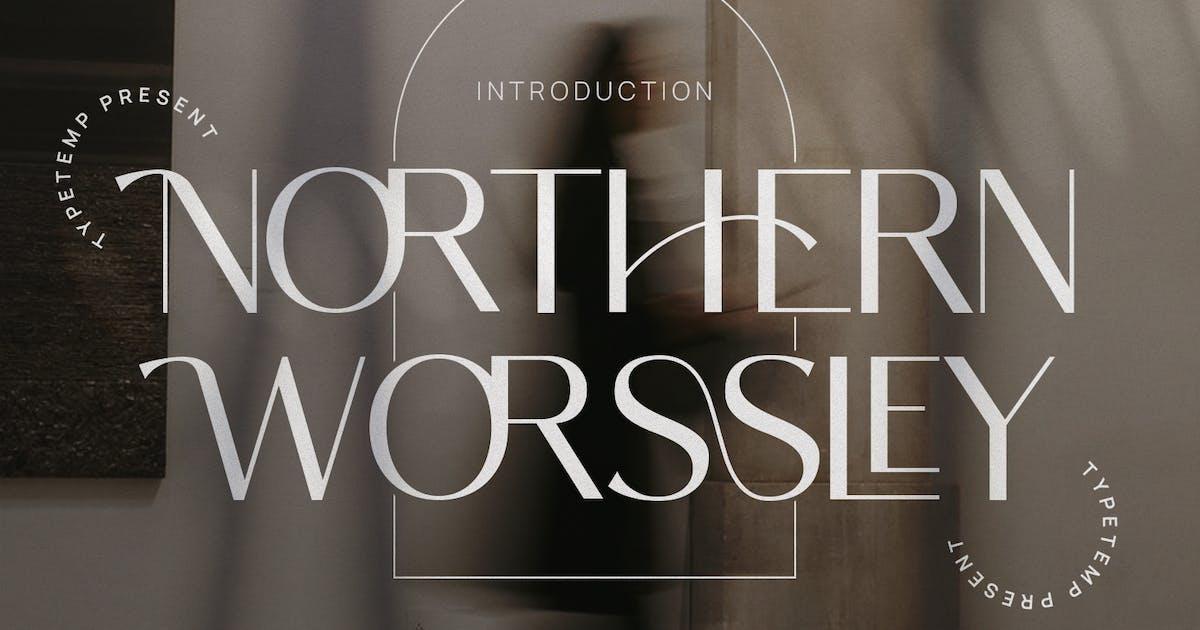 Download Northern Worssley - Ligature Sans by TempCraft