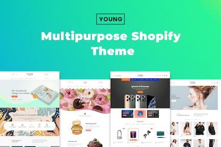 Jeune - Thème Shopify Polyvalent