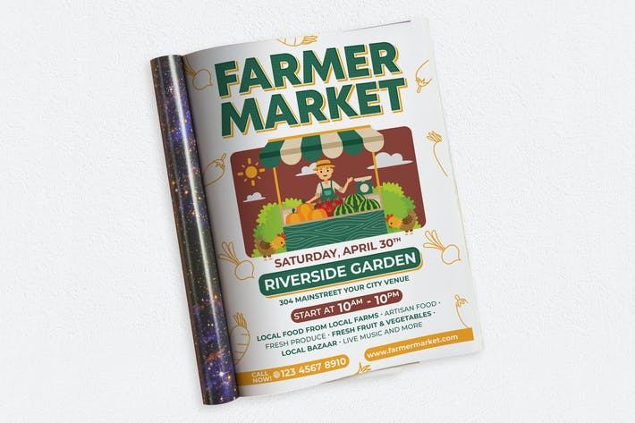 Thumbnail for FARMER MARKET ads magazine