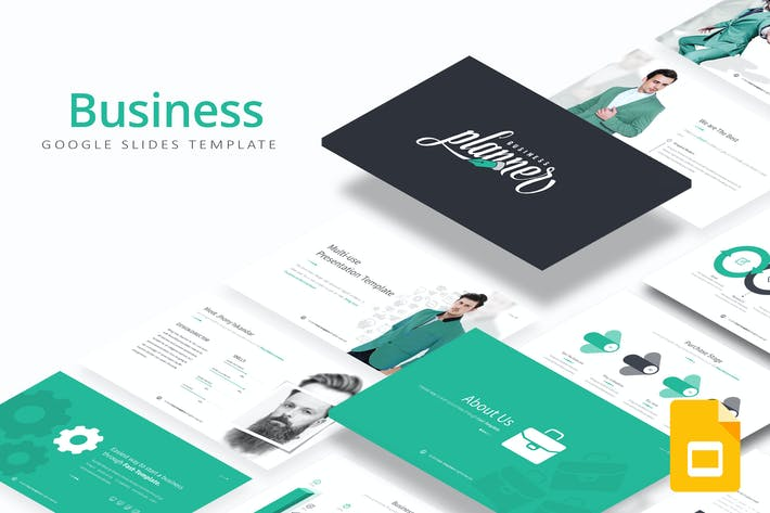 Thumbnail for Business Google Slides Template