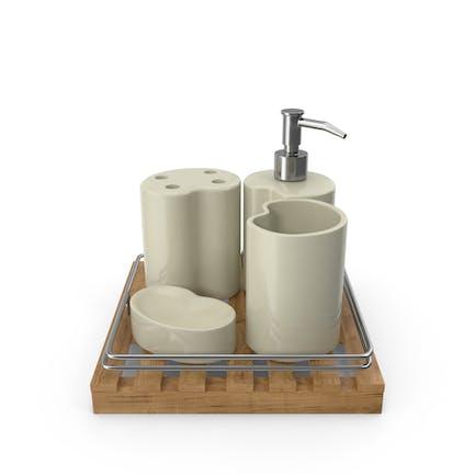 Juego de accesorios Kit baño