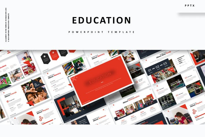 Thumbnail for Образование — Шаблон Powerpoint