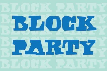 Fiesta en bloque