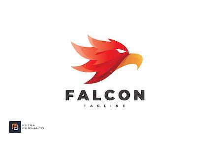 Falcon Head - Logo Template