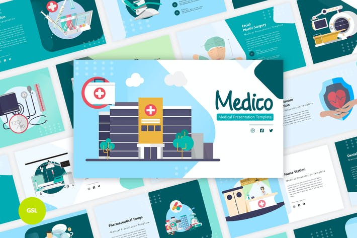 Medico - Medical Google Slides Template