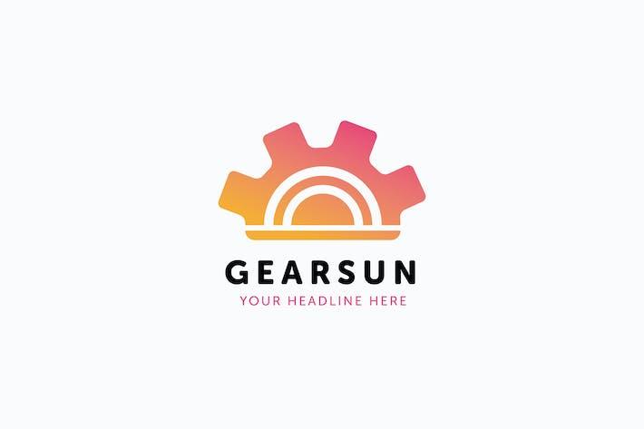 Thumbnail for Gear Sun Logo Template
