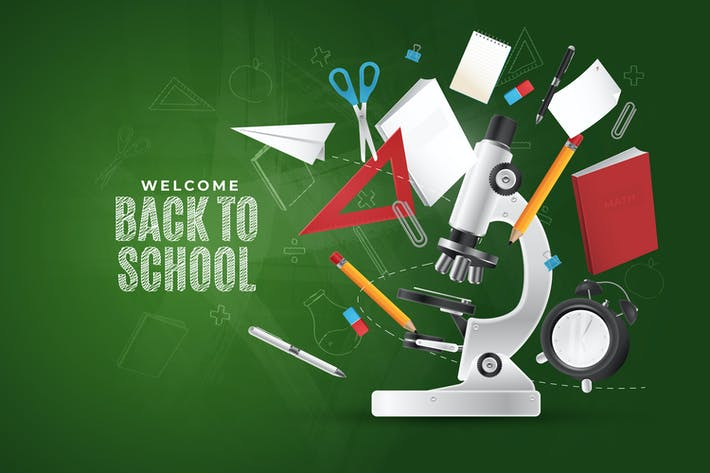 Thumbnail for Back To School Background