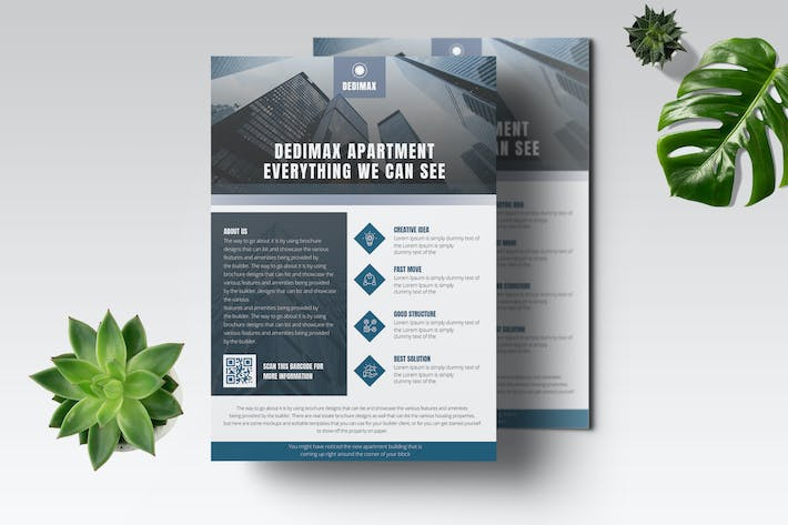 High Building Flyer Template