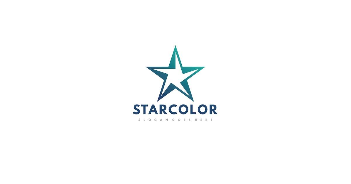 Download Starcolor Star Logo Design by 3ab2ou