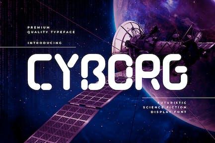 Cyborg - Technologie Futuriste Typeface