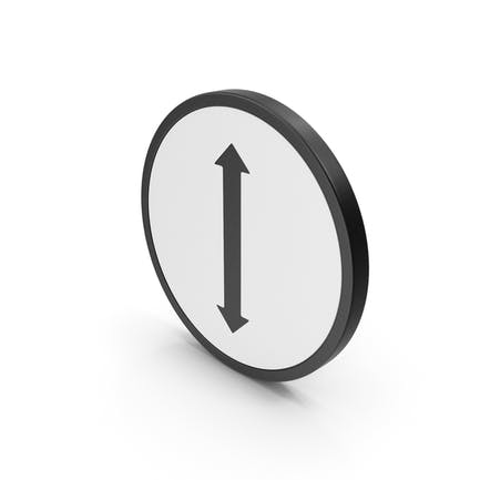 Symbol Pfeil rauf nach unten