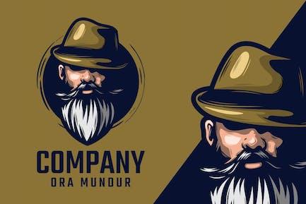 Beard Logo Mascot