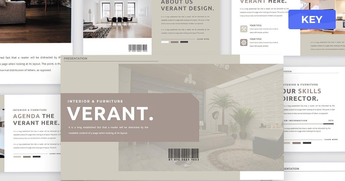Download Verant - Keynote Presentation Template by Creavora