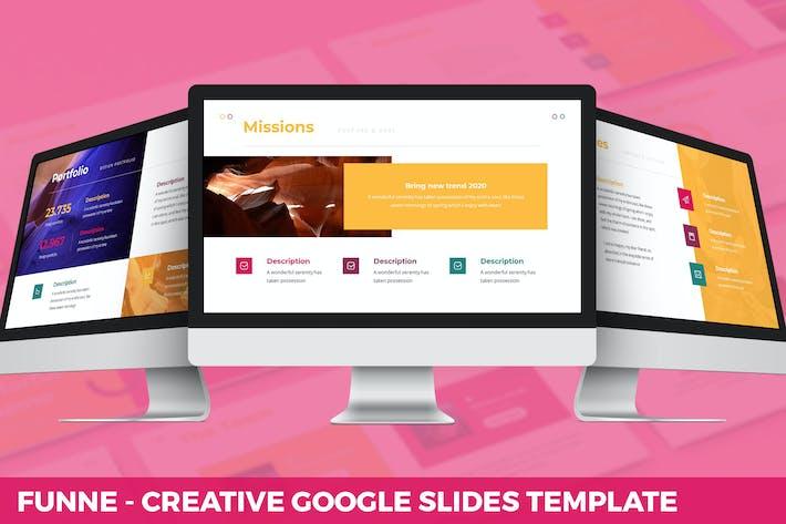 Thumbnail for Funne - Creative Google Slides Template