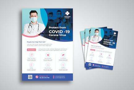 Covid 19 Campaign Flyer