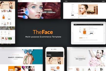 Theface - Тема PrestaShop для красоты и косметики