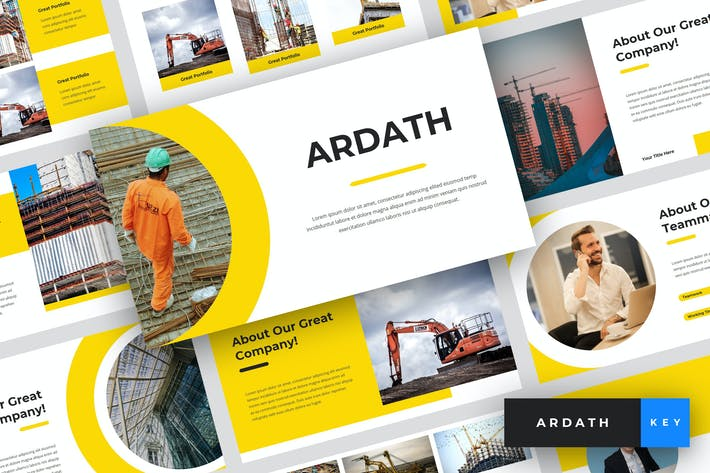 Thumbnail for Ardath - Construction Keynote Template