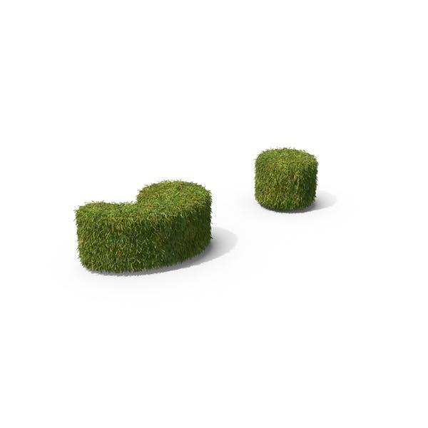 Grass Semicolon Symbol