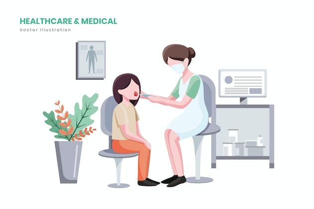 Healthcare & Medical Illustration
