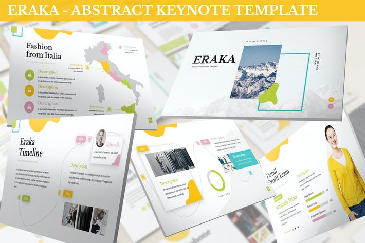Thumbnail for Eraka - Abstract Keynote Template
