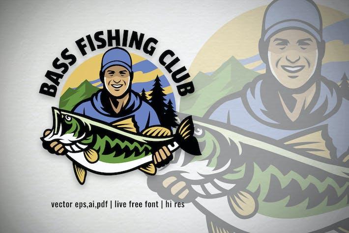 Thumbnail for Logo du club de pêche à la basse