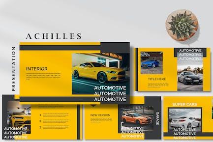 Achilles Sport Cars - Automotive Powerpoint