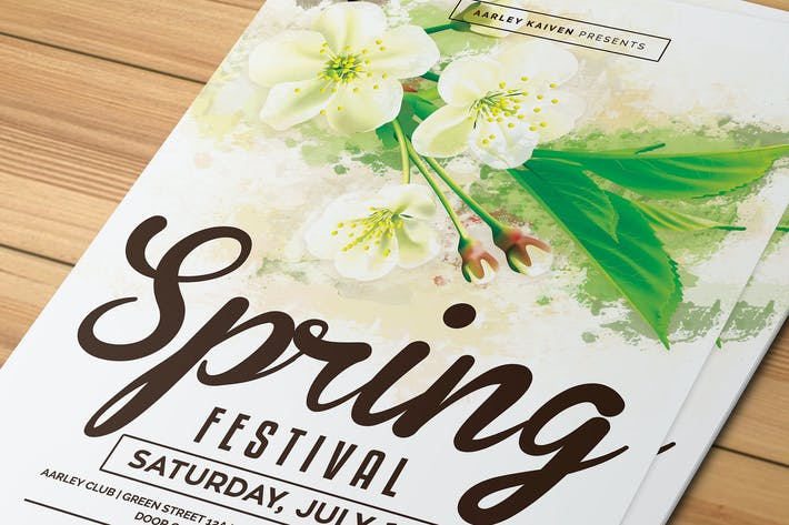 Thumbnail for Spring Festival Flyer / Invitation