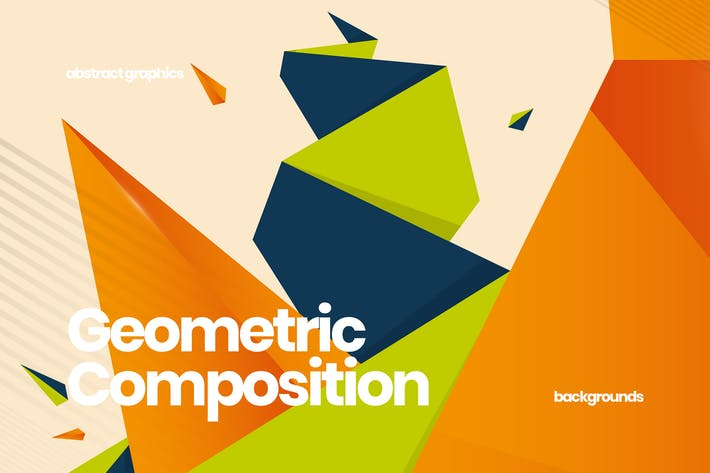 Thumbnail for Geometric Composition Backgrounds