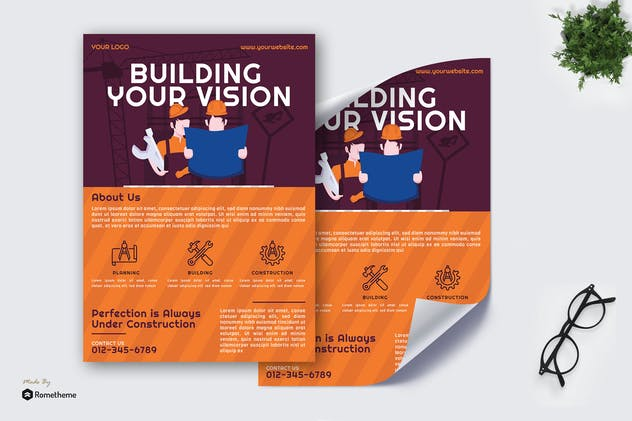 Construction - Poster vol.02 GR