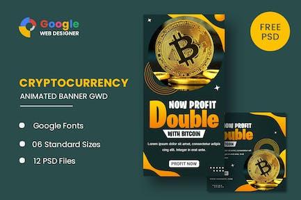 Cryptocurrency Bitcoin Google Web Designer
