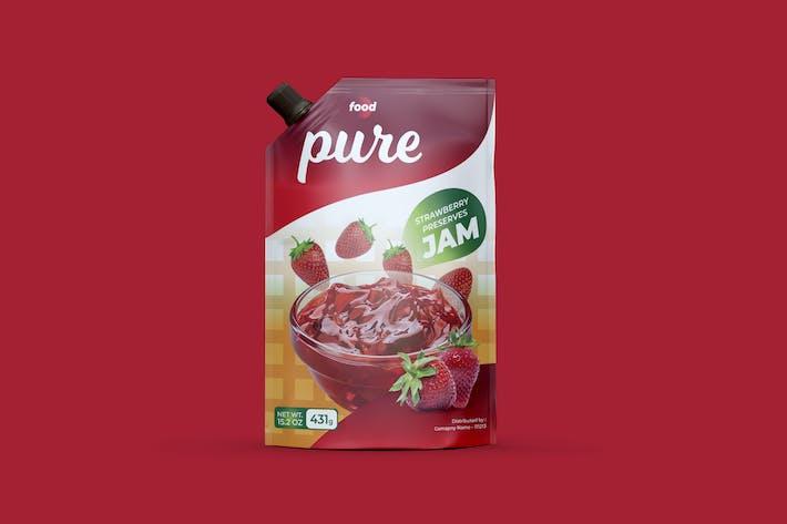 Thumbnail for Strawberry Jam Spout Design