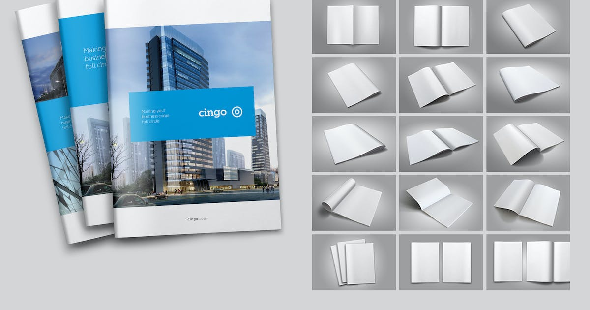 Download 17 Brochure Mock-Ups by simon-cpx