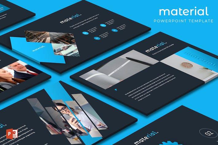 Материал - Шаблон Powerpoint
