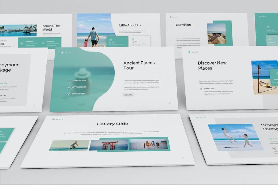 Vacato Travel Keynote Presentation Template
