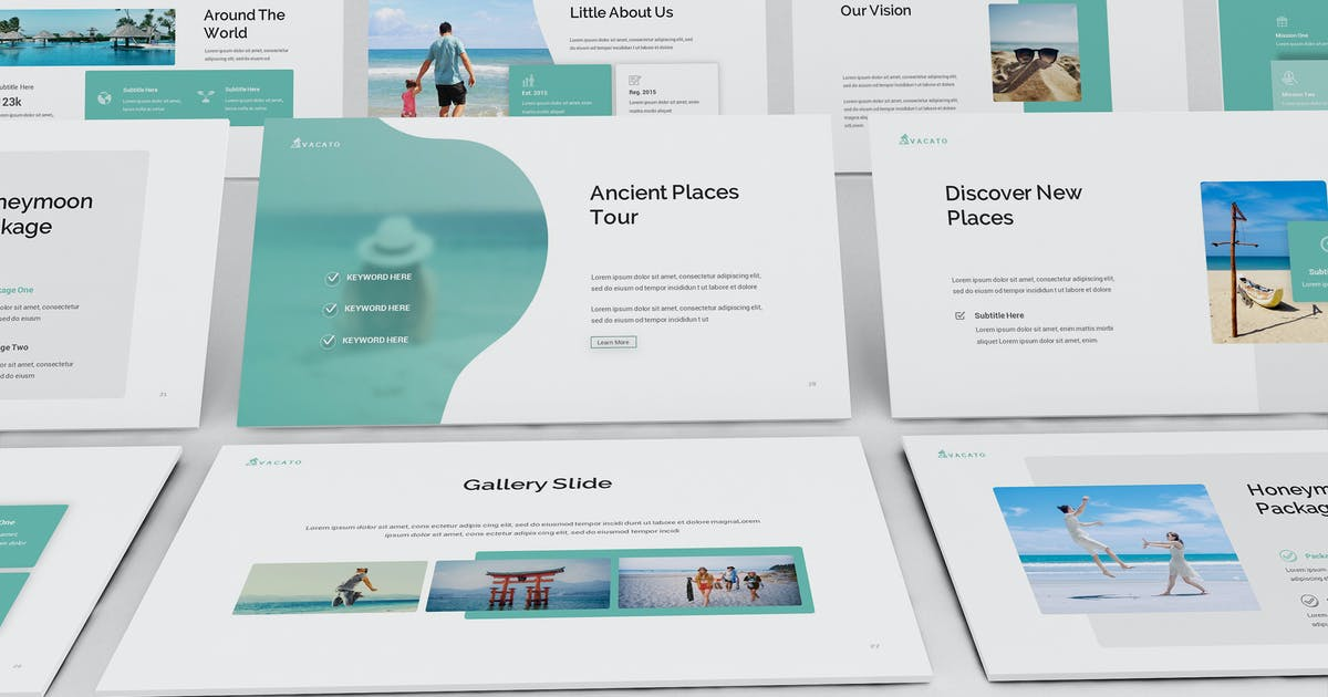 Download Vacato Travel Keynote Presentation Template by giantdesign
