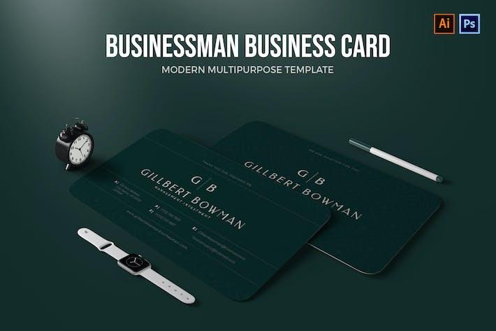 Thumbnail for BusinessMan - Carte de visite