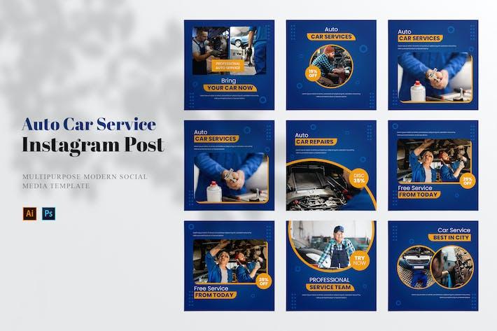 Auto Car Service Social Media Post