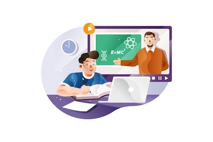 Estudiar en línea con profesores de casa