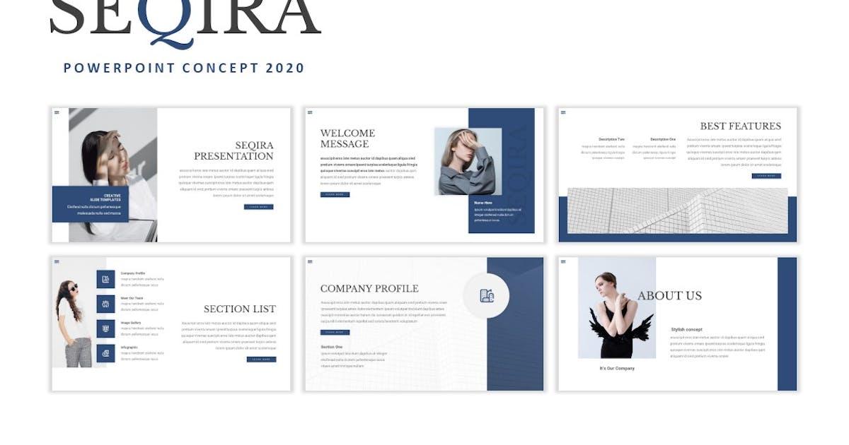 Download Seqira - Presentation Template by Fannanstudio
