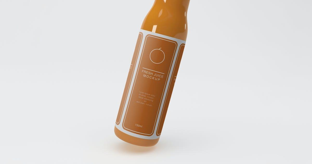 Download Juice Bottle Packaging Mockup by megostudio