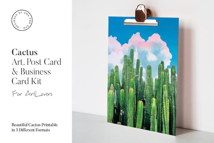 Thumbnail for Cactus Summer Art & Stationary Kit
