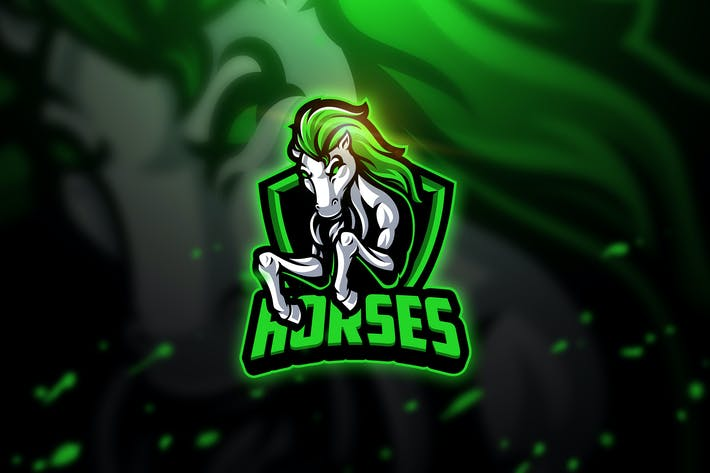 Thumbnail for Horses 3 - Mascot & Esport Logo