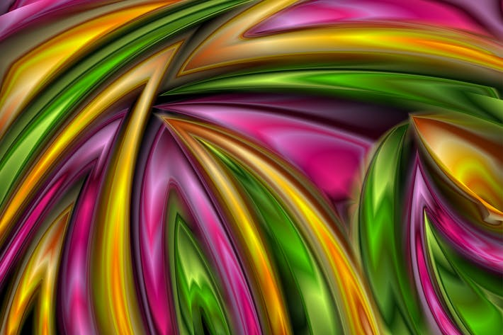 Thumbnail for Colorful abstract modern glossy art pattern