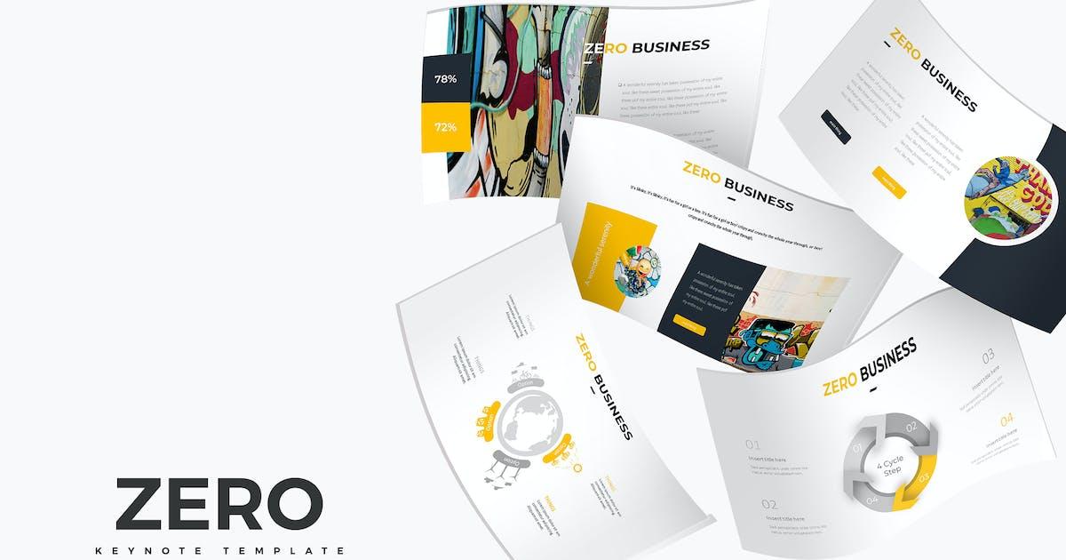 Download Zero - Keynote Template by aqrstudio