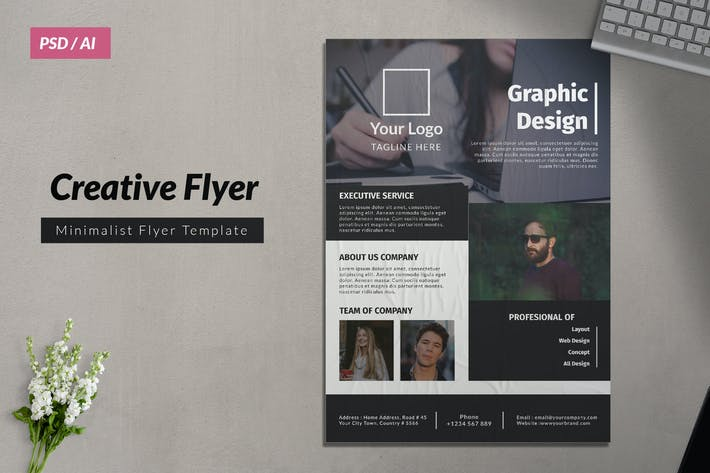 Thumbnail for Creative Business Flyer 7