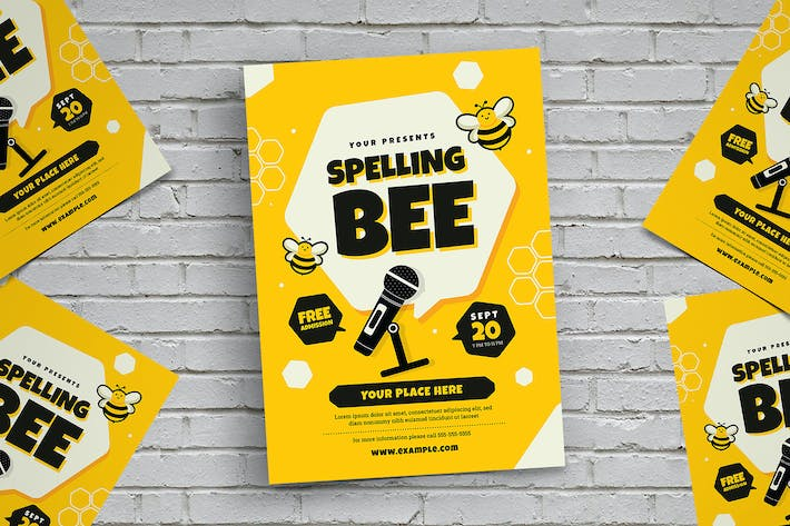 Thumbnail for Spelling Bee Flyer