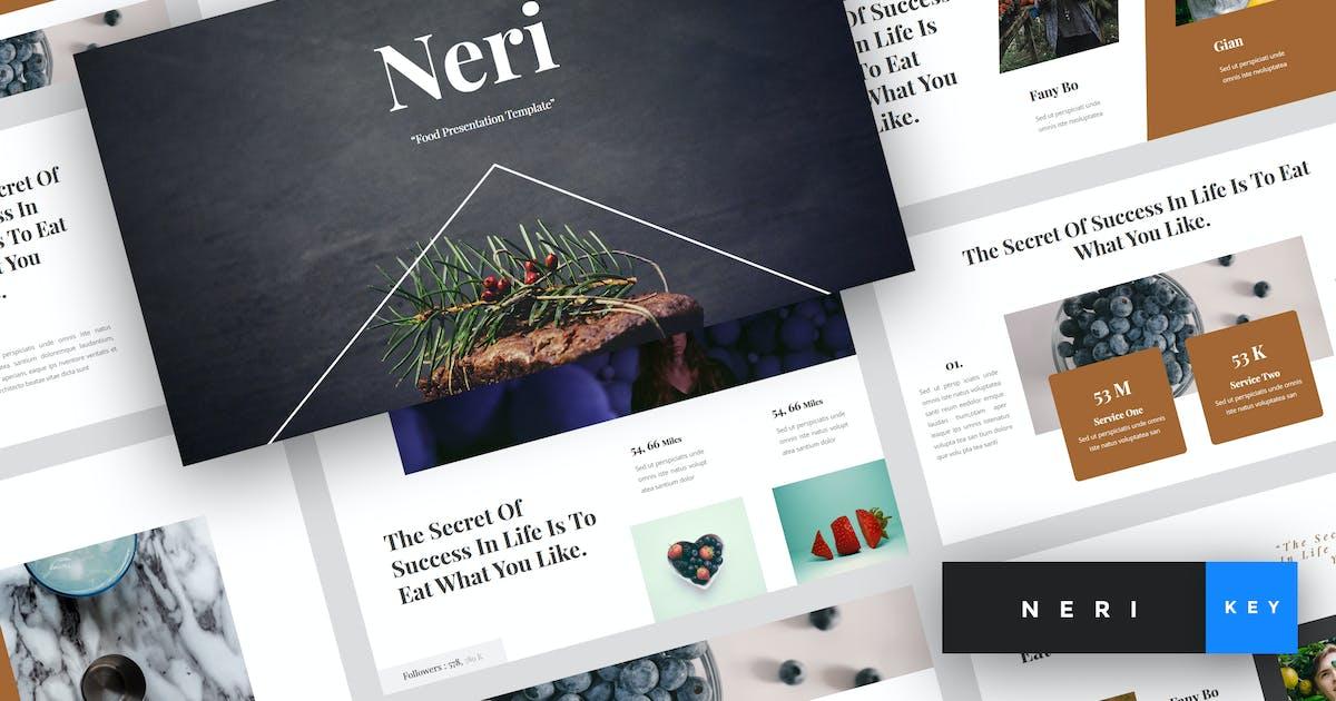 Download Neri - Food Keynote Template by StringLabs