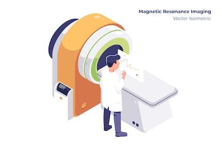 Magnetic Resonance - Vector Illustration